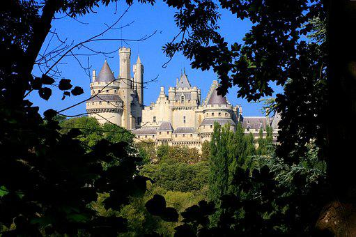 Castle, Pierrefonds, Middle Ages, Castle Wall, History