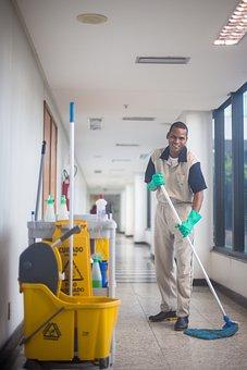 Cleaner, Broom, Inside, People, Inside The House