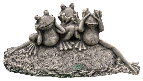 Frog, Figure, Frogs, Ceramic, Garden Figurines