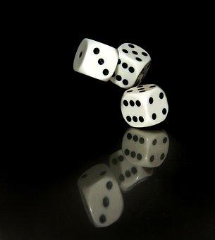 Die, Danger, Game Of Chance, Risk, Poker, Luck, Game