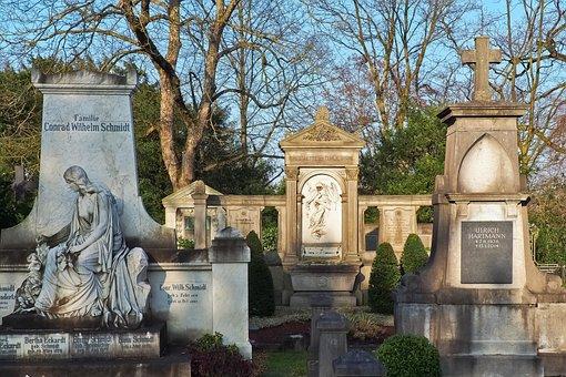 Statue, Cemetery, Grave, Grave Stones, Sculpture, Stone