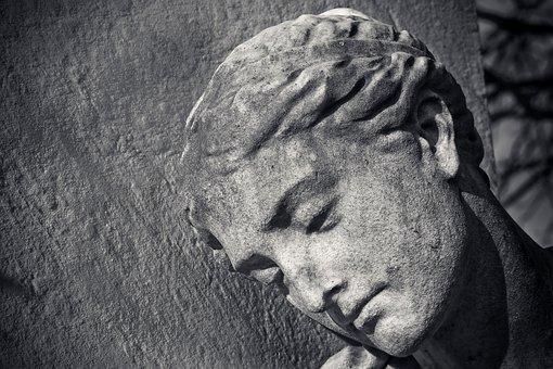 Statue, Face, Sculpture, Head, Woman, Figure, Stone