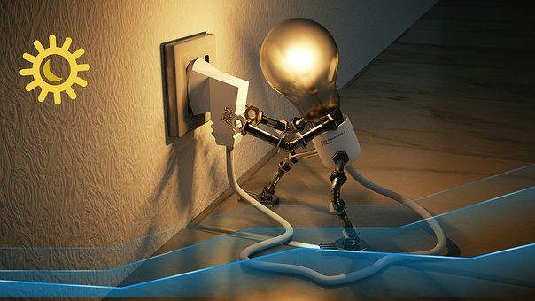 Lamp, Show, Technology, Equipment, Inside, Light Bulb