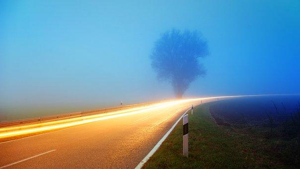 Sky, Travel, Nature, Sunset, Sun, Road
