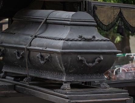 Old, Coffin, Dead, Funeral, Mourning, Death