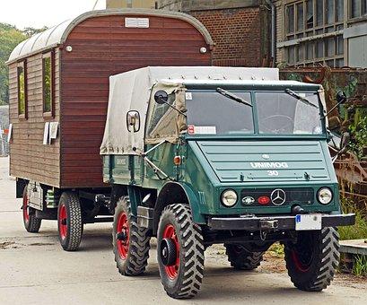 Unimog, Restored, Operational, Club, Vehicle, Truck