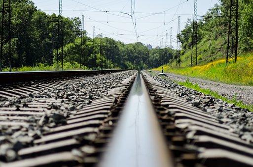 Railway Track, Railway, Train, Direction