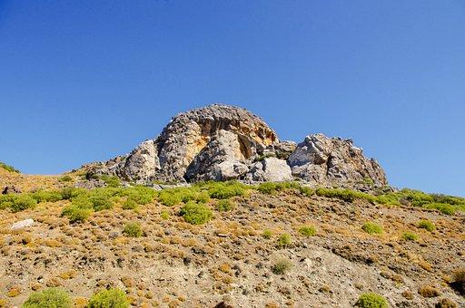 Nature, Sky, Landscape, Travel, Stone, Hill, Mountain