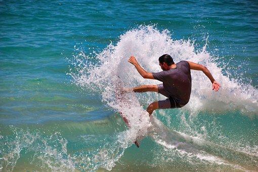 Surfer, Surfing, Waters, Surf, Splash, Action