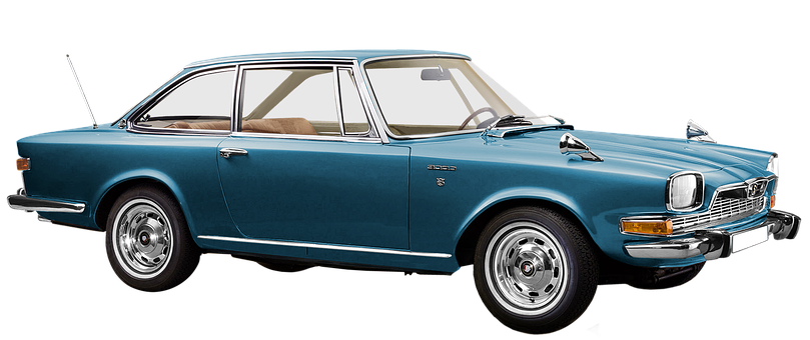 Bmw Glas V8 Coupe, Isolated, 8-cyl, V Engine, 2982 Ccm