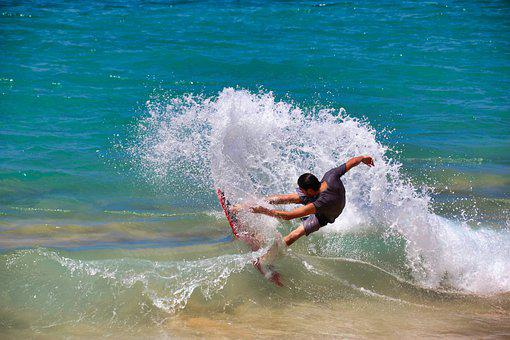 Surfer, Surf, Waters, Action, Variety