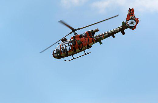 Helicopter, Aircraft, Military, Flight, Air