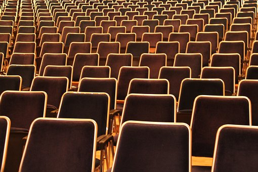 Seat, Auditorium, Chair, Empty, Series
