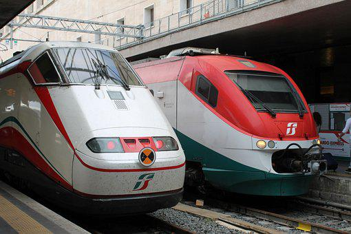 Transport System, Auto, Vehicle, Train, Motor, Italy