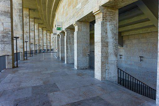 Pillar, Architecture, Berlin Olympic Stadium