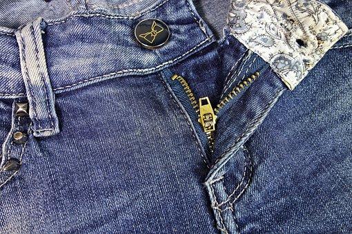 Jeans, Blue Jeans, Zipper, Denim, Pants, Woman Pants