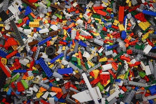 Lego, Pieces, Toy, Brick, Build, Construction, Plastic