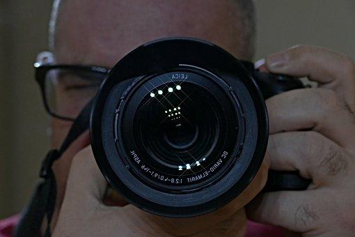 Camera, Photographer, A Man, Technique, Hand, My Camera