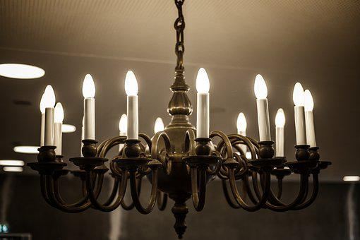 Lamp, Light, Chandelier, Lighting, Candlestick