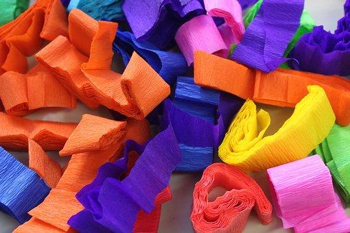 Paper, Strips, Colorful, Decoration, Multicolored