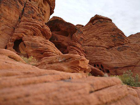 Sandstone, Desert, Rock, Canyon, Nature, Geology