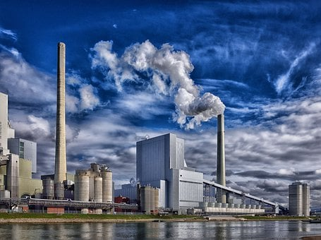 Refinery, Industry, Steam, Environmental Protection