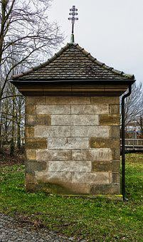 Chapel, Facade, Stone Wall, Rock Carving, Old, Building