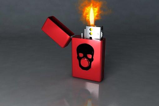 Fosforera, Flame, Flammable