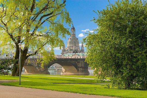 Dresden, Frauenkirche, Old Town, Church, Saxony