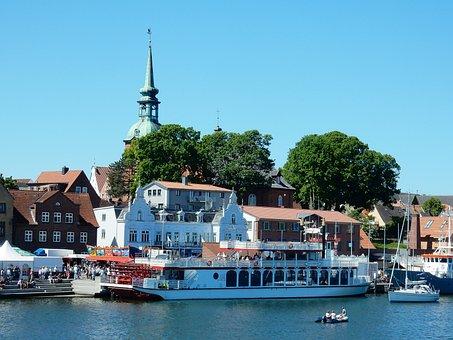 Kappeln, Fish, Herring Days, Celebrate, Schlei Princess