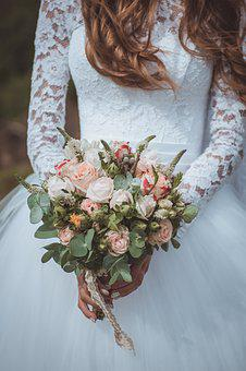 Flower, Lovely, Wedding, Bouquet, Bride