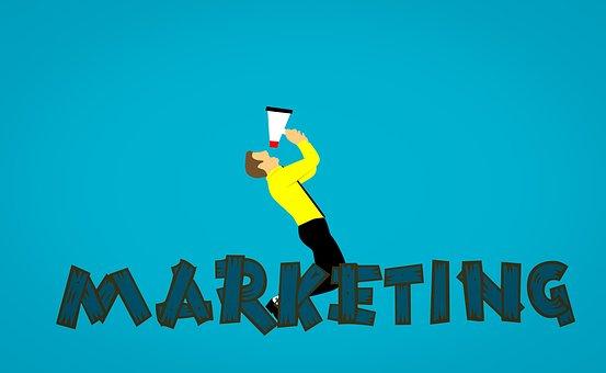 Marketing, Megaphone, Market, Social Media, Business