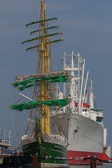 Ship, Waters, Nautical, Boot, Port, Sailing Vessel