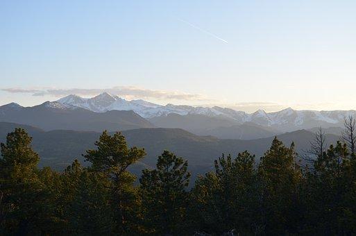 Mountain, Nature, Sky, Snow, Panoramic