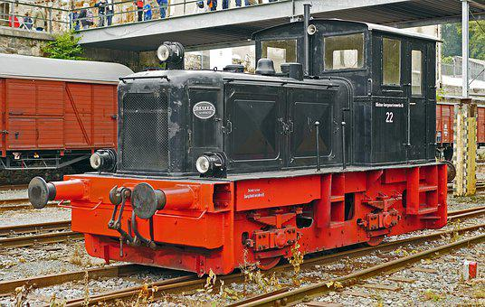 Diesel Locomotive, Werkslok, Small Loco, Verschublok