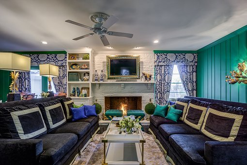 Table, Furniture, Room, Inside, Sofa, Seat, House