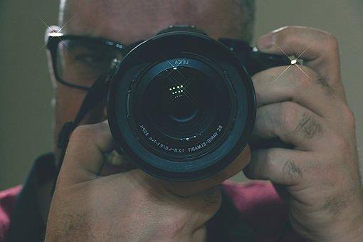 Fotoáparat, Photo Shoot, A Man, Technique, Photographer
