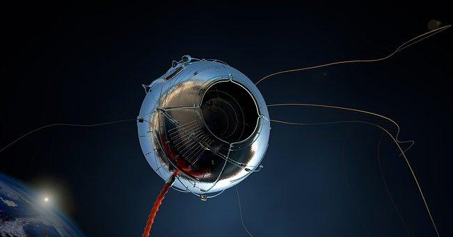 Satellite, Eye, Watch, Optics, Space, Technology