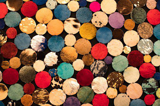 Background, Color, Round, Texture, Pattern, Christmas