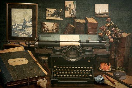 Typewriter, Former, Type, Antique, Retro, To Write