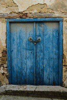 Door, Architecture, Wood, Old, Doorway, Wall, Decay