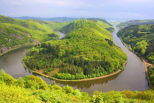 Waters, Nature, River, Landscape, Travel