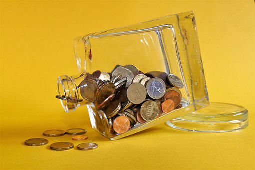 Background, Glass, Wealth, Currency, Money, Bottle