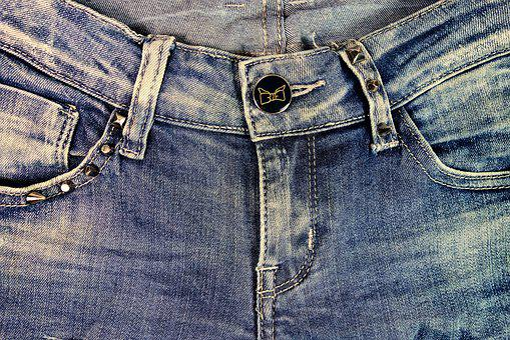 Jeans, Blue Jeans, Zipper, Belt Loop, Denim, Pants
