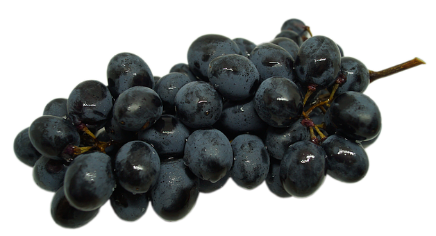 Grapes, Transparent Background, A Bunch Of, Fruit