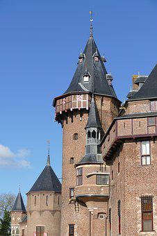 Tower, Castle, Lock, Architecture, History