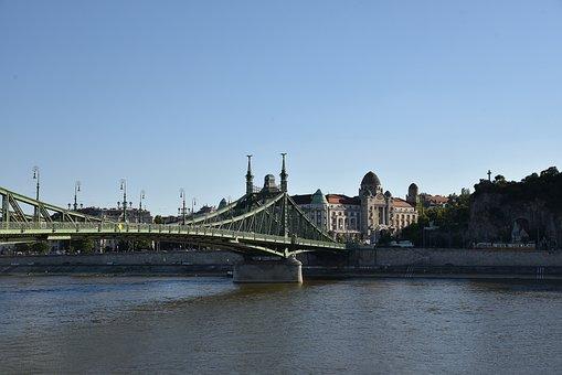 Water, River, Bridge, Travel, Architecture, City, Sky