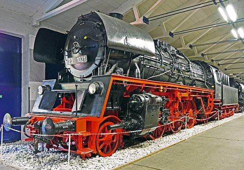 Steam Locomotive, Exhibit, Museum, Restored, Br23