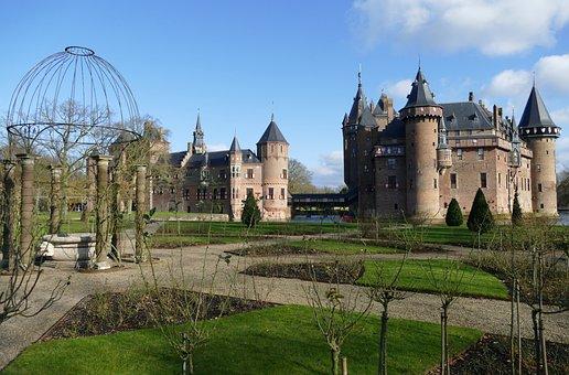Castle, Lock, Architecture, History, Garden, Park