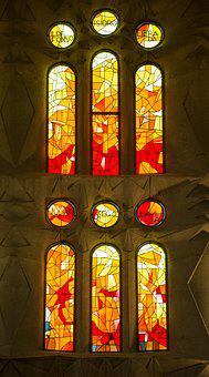 Church, Stained Glass, Religion, Religious, Window